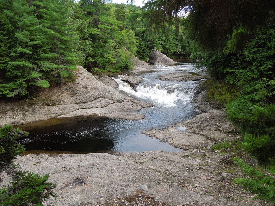 Waterfalls, New Brunswick, Canada