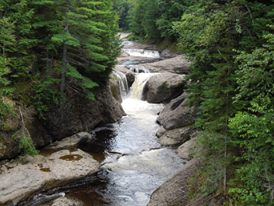 Waterfalls, New Brunswick, Canada